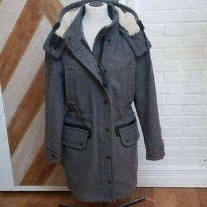 Coach parka coat
